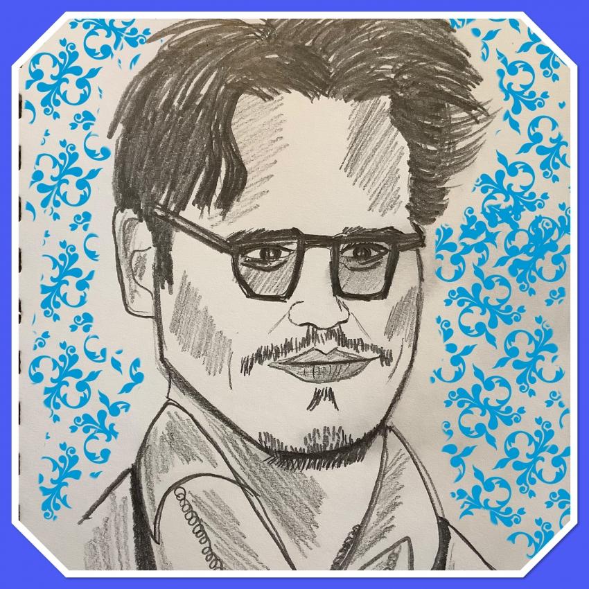 Johnny Depp por dasee